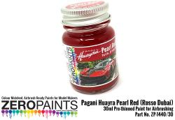 Pagani Huayra Pearl Red (Rosso Dubai) Paint 30ml