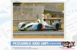 Pescarolo-Judd LMP1 2009 Decals - For Simil'r Kit 151105