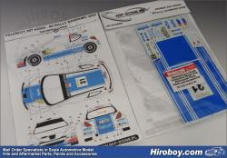 Peugeot 207 S2000 Solowow/Baran Raly San Remo 2008 - Decals (Belkits)