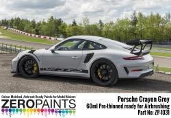 Porsche GT3 RS Crayon Grey Paint 60ml
