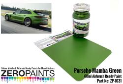 Porsche Mamba Green Paint 60ml