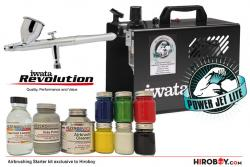 Power Jet Lite Compressor / Revolution CR Airbrush (Starter Kit)