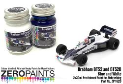 Brabham BT52 and BT52B  Blue and White Paint Set 2x30ml