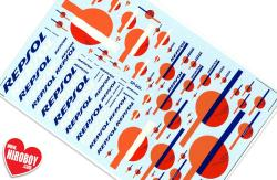 Repsol Sponsor Decals (Various Scales)