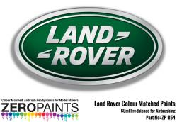 Land Rover/Range Rover Colour Matched Paints 60ml