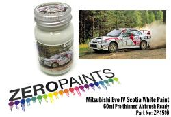 Mitsubishi Evo IV Scotia White Paint 60ml