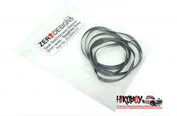 Seat Belt Material 3mm Graphite Grey