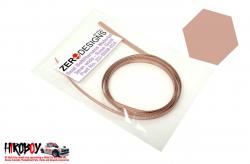 Seat Belt Material 3mm Rose Gold