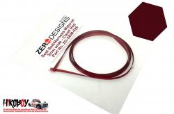Seat Belt Material 3mm Claret (Dark Red)