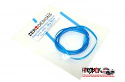 Seat Belt Material 3mm Sky Blue