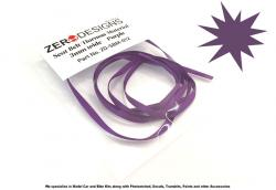 Seat Belt Material 3mm Purple
