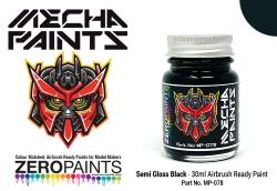 Semi-Gloss Black	 30ml - Mecha Paint