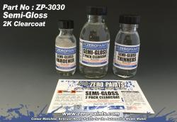 Semi-Gloss (Satin) 2 Pack Clearcoat 100ml (2K Urethane)