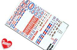 Esso Sponsor Decals (Various Scales)