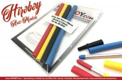 Shrink Tubes - 7mm (3.5mm) 4 Colour Pack