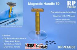 Small Magnetic Handle with Acrylic Basement - MAG50