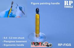 Figure Painting Handle with Acrylic Basement