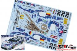 Spare Tamiya Decal Sheet 1:24 Porsche 911 GT1 24186