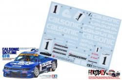 Spare Tamiya Decal Sheet A 1:24 Calsonic Skyline GT-R (R33) - 24184