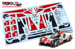 Spare Tamiya Decal Sheet A 1:24 Toyota TS050 Hybrid Gazoo Racing 24349