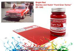 "Starsky and Hutch ""Ford Gran Torino"" Bright Red Paint 60ml"