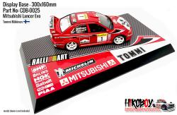 Mitsubishi Impreza WRC Tommi Mäkinen - Display Base for Model Kits 300x160mm