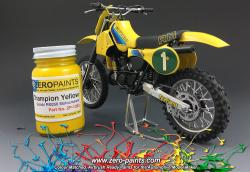 Suzuki Champion Yellow RM250 Motocrosser Bike (Tamiya) Paint - 60ml