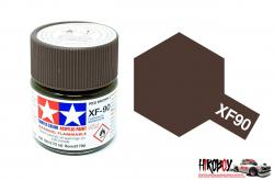 Tamiya Acrylic Mini XF-90 Red Brown 2 - 10ml Jar