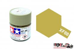 Tamiya Acrylic Mini XF-88 Dark Yellow 2 - 10ml Jar