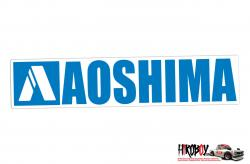 Aoshima Sticker 125mm x 25mm
