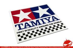 Tamiya Chequer Sticker 61mm x 58mm