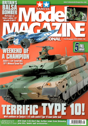 Tamiya Model Magazine - #238 (1:20 Tyrrell 003)