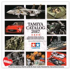 Tamiya Plastic Model Catalog 2017