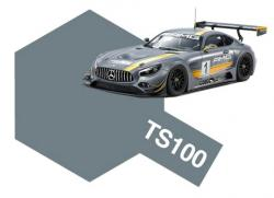 Tamiya Spray 100ml TS-100 Semi-Gloss Bright Gun Metal (Mercedes-AMG GT3)