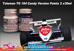 Toleman TG184 Candy Version Paint Set 2x30ml