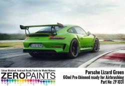 Porsche 911 GT3 RS Lizard Green Paint 60ml