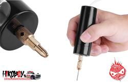 USB Mini Small Electric Drill c/w 3 Drill Pieces