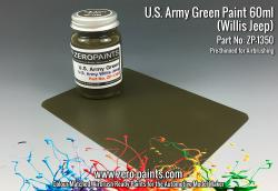 U.S. Army Willys Jeep Green Paint 60ml