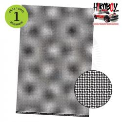 Upholstery Pattern Decals - Houndstooth Pattern 1 - Clear Background