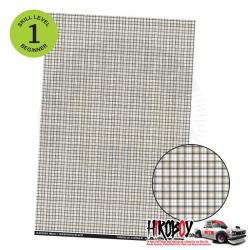 Upholstery Pattern Decals - Plaid Pattern Decal 1