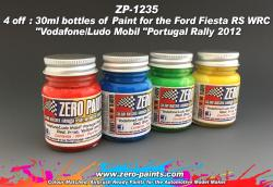 Vodafone/Ludo Mobil Rally Car Paint Set 4x30ml