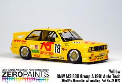 BMW M3 E30 Group A 1991 Auto Tech - Yellow Paint - 30ml