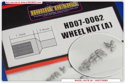 Wheel Nuts (A) 20 pieces
