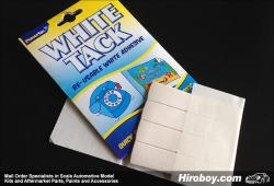 White Tack - Uses inc Hold Parts, Masking etc