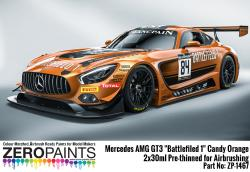 "Mercedes AMG GT3 ""Battlefield 1"" Candy Orange Paint 2x30ml"