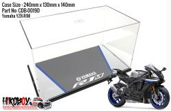 Yamaha YZF R1M Display Case with Printed Base