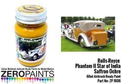 "Rolls Royce Phantom II ""Star of India"" Saffron Ochre Paint 60ml"