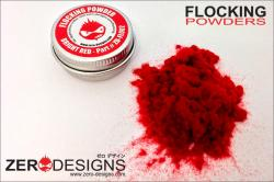 Flocking Powder - Bright Red