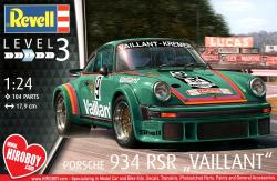 "1:24 Porsche 934 RSR ""Vaillant"" Model Kit"