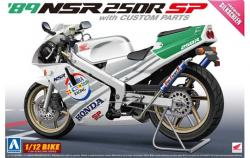 1:12 Honda '89 NSR250R SP With Custom Parts